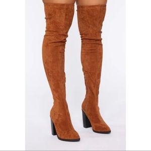 Fashion Nova Autumn Calls Over The knee boots 11